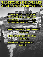TELÉFONOS DE INTERES EN ARCOS
