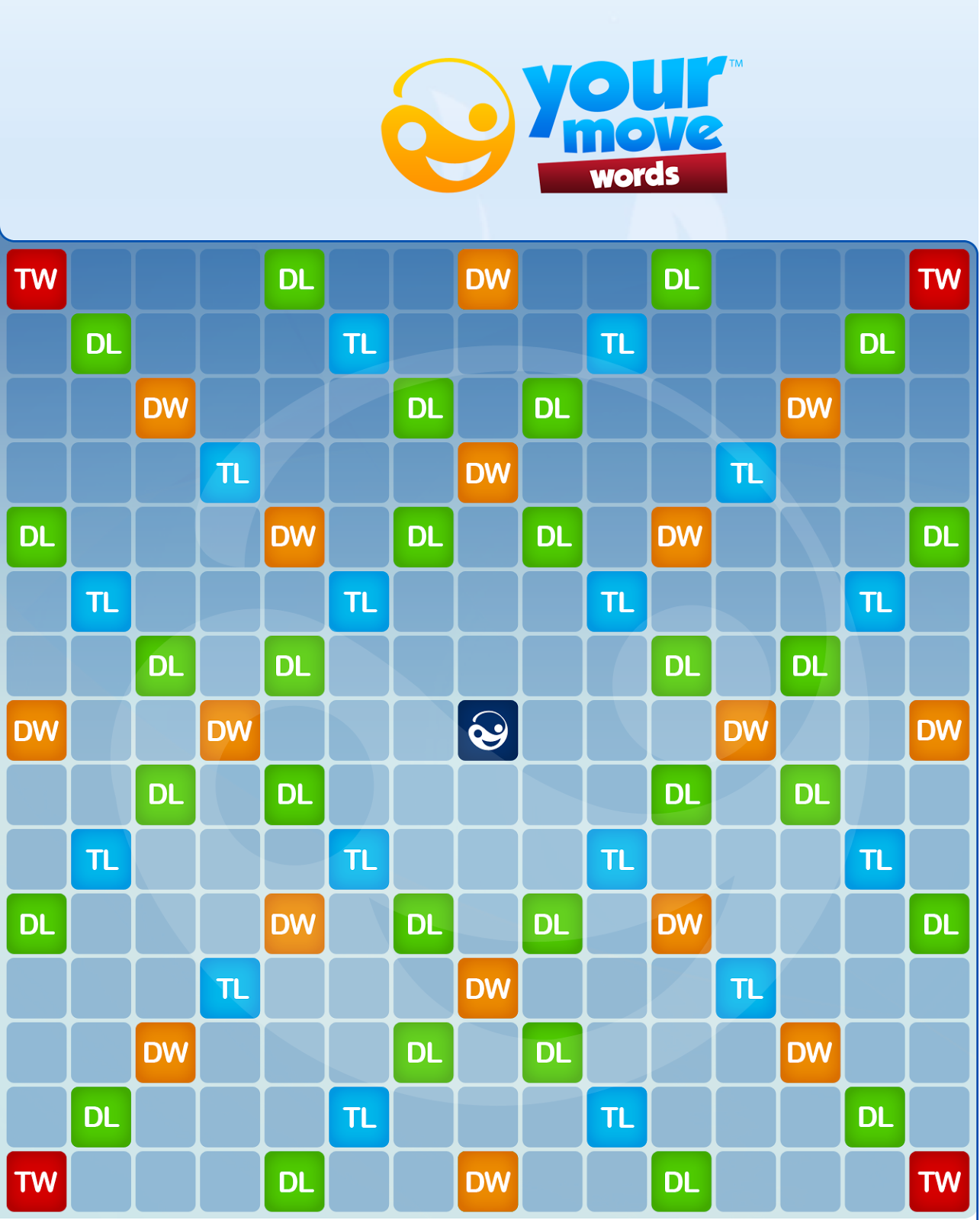 Your move words screenshot from an ipad