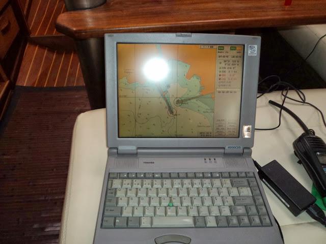 Computer chartplotter