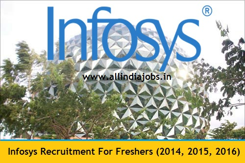 Infosys Recruitment 2017 Job Openings For Freshers
