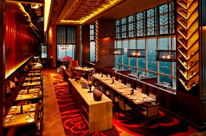 Altitude Is A Group Of 3 Restaurants Located On The 46th Floor Plaza Tower One Most Expensive Office Buildings In Jakarta Also Home