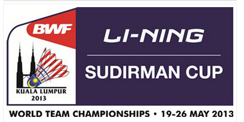 Badminton Event - Sudirman Cup 2013
