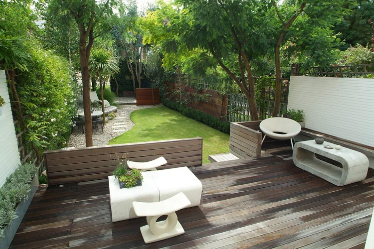 Image gallery jardines minimalistas for Jardines de patios modernos