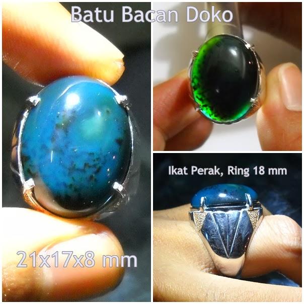 BC02- SOLD - Batu Bacan Doko Biru - Mantap !!!