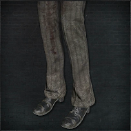 Bloodied Trousers