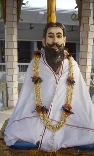 "Jai Aghoreshwar  Baba Kinaram had direct vision of Bhagwan Dattatreya. It was he who meet Baba Kinaram at Varanasi in the guise of  Baba Kaluram. The place-Kautila preserved in Krim-Kunda Sthal bears the testimony to their divine meeting. The statue of Dutt Mahaprabhu set up in the Sthal remind us of the presence of ""Bhagwan Dattatreya"" in the spritual environment of Sthal. The Krim-Kund(Sthal) is believed to be the meeting ground of two thoughts-streams-Kailashi & Girnari tradition and stands for oneness of all sects viz., Shavishm, Vaishnavism and Shakta.  Aghoracharya Baba Keenaram Ji Maharaj was born on Aghor Chaturdashi(Bhadrapad) in 1658 A.D in Ramgarh village, then in district Varanasi. The entire region became overjyoed when the childless couple Shree Akbar Singh and Mansa Devi finally got their child. After the birth, the child neither cries nor suckled at his mother's breast for three days. After three days when three monks (who were believed to be manisfestations of Lord Sadashiva --Brahma, Vishnu and  Mahesh) came there, took the child in their arms and wishpered something into his ears. Amazingly the child began to cry for the first time since birth. It is from that day onwards theLolark Shashti festival is celebrated  as Sanskar(Shashti, usually celebrated in Hindu religion after five days of birth) of Maharaj Shree (Baba Kinaram Ji) . Goddess Hinglaaj blessed Baba Keenaram in Girnar and followed him to Krim-Kund situated in Shivala Varanasi. Baba Kinaram is the founding father of the ancient Aghor seat of Varanasi. Hinglaaj Maa is present in the Yantra,  which is the representation of deity in mystical geometric pattern. Baba Kaluramji known to be ""Guru""(spritual teacher) awakened the consciousness of ""Aghor"" in Baba Kinaram. Later on baba Kinaram eastablished himself in the city of Varanasi for the service of the people and enlightened them with the ancient wisdom. He has mentioned principles of Aghor in his books Viveksar, Ramgita, Ramrasal and Unmuniram. The book called Viveksar written by Baba Kinaram is said to be the most authentic treatise on the principles of Aghor. During his tour Kinaramji first stopped at the dwelling of  ""Grihast Saint"", Baba Shiva Das for few days. Baba Shiva Das observed Baba Kinarm activities very minutely and was impressed by the extraordinary qualities, suspecting that he is an Avtar or an reincarnation. One day while on way to bath in river Ganga, Baba Shiva Das handed over his entire belongings to the boy Kinaram and hid himself in nearby bushes. He observed that the river Ganga become very restless as the boy approached closer. The level of water started to rise, and suddenly setteled down only after touching the feets of Baba Kinaram. Baba Kinaram was known as the biggest saint of the Era of Aghor tradition also known asLord Shiva tradition. He was the first Founder/Peethadheswar of Baba Kinaram Sthal and before he took Samadhi he conveyed to his disciples that he will Re-incarnate as 11th Peethadheswar of Krim- Kund (Kinarm Sthal)."