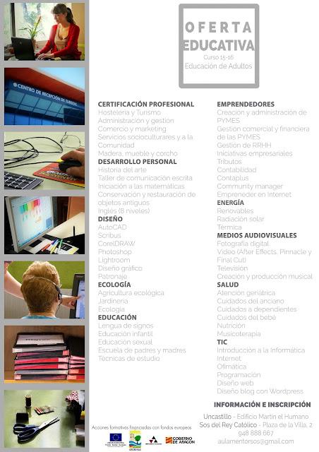 Aula Mentor - Oferta Formativa 2015-16