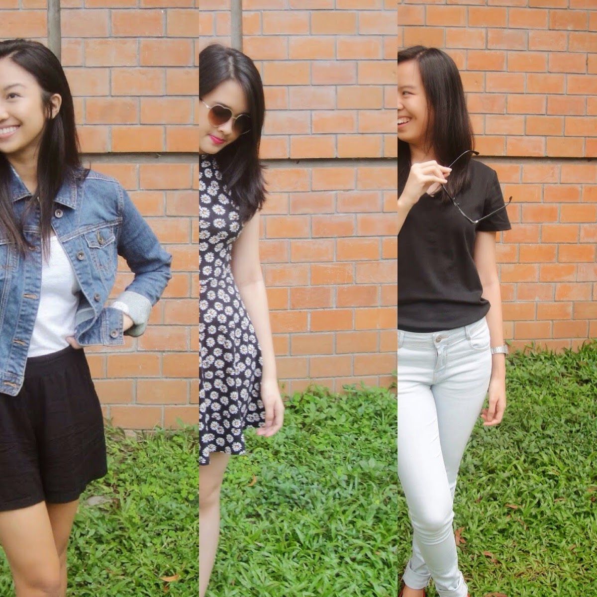 Fashion: 3 Ways to Wear Black on a Casual Day