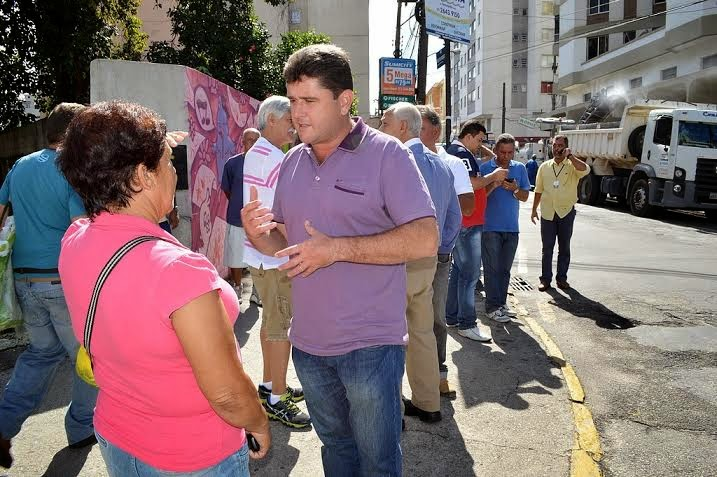 Prefeito Arlei conversa com população sobre os projetos de Governo