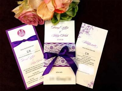 chọn mẫu thiệp cưới ấn tượng