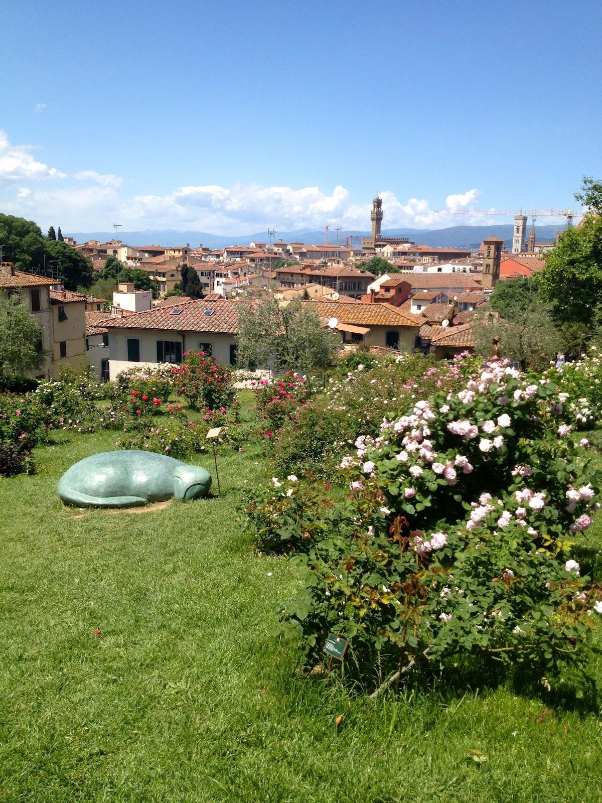 Io amo firenze il giardino delle rose che profumo - Giardino delle ninfee ...