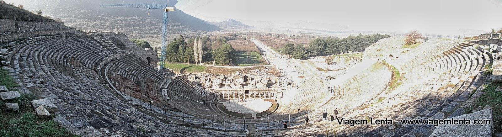 Viagem ao sítio arqueológico da cidade de Éfeso, Turquia