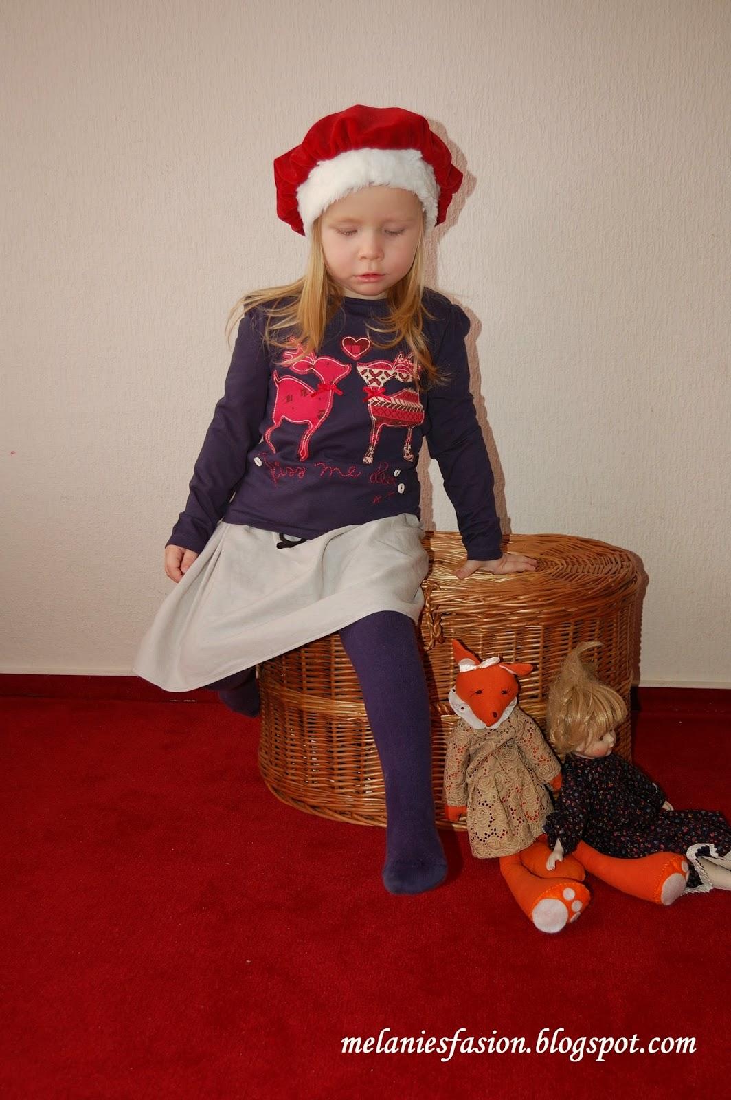 świąteczna stylizacja dziecko