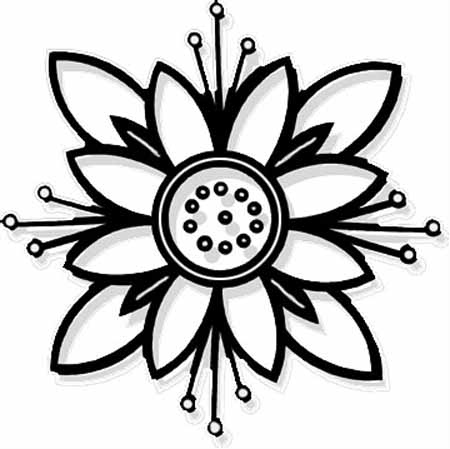 You Can Choose Below Coloring Picture Flower Pages For Kids