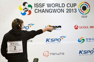 Christian Reitz - Alemanha - Pistola de Tiro Rápido - Copa do Mundo ISSF 2013 - Tiro Esportivo