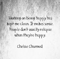 Happiness in Recovery Quote