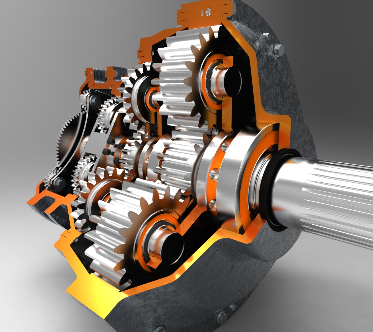 two stage gearbox design pdf