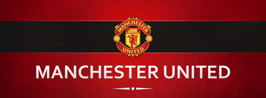 Machester United football clup facebook cover
