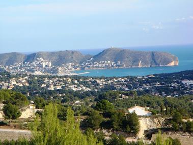 View of Moraira
