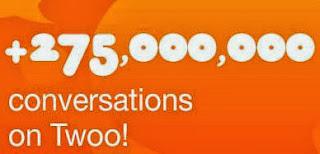 275 millones conversaciones chat twoo
