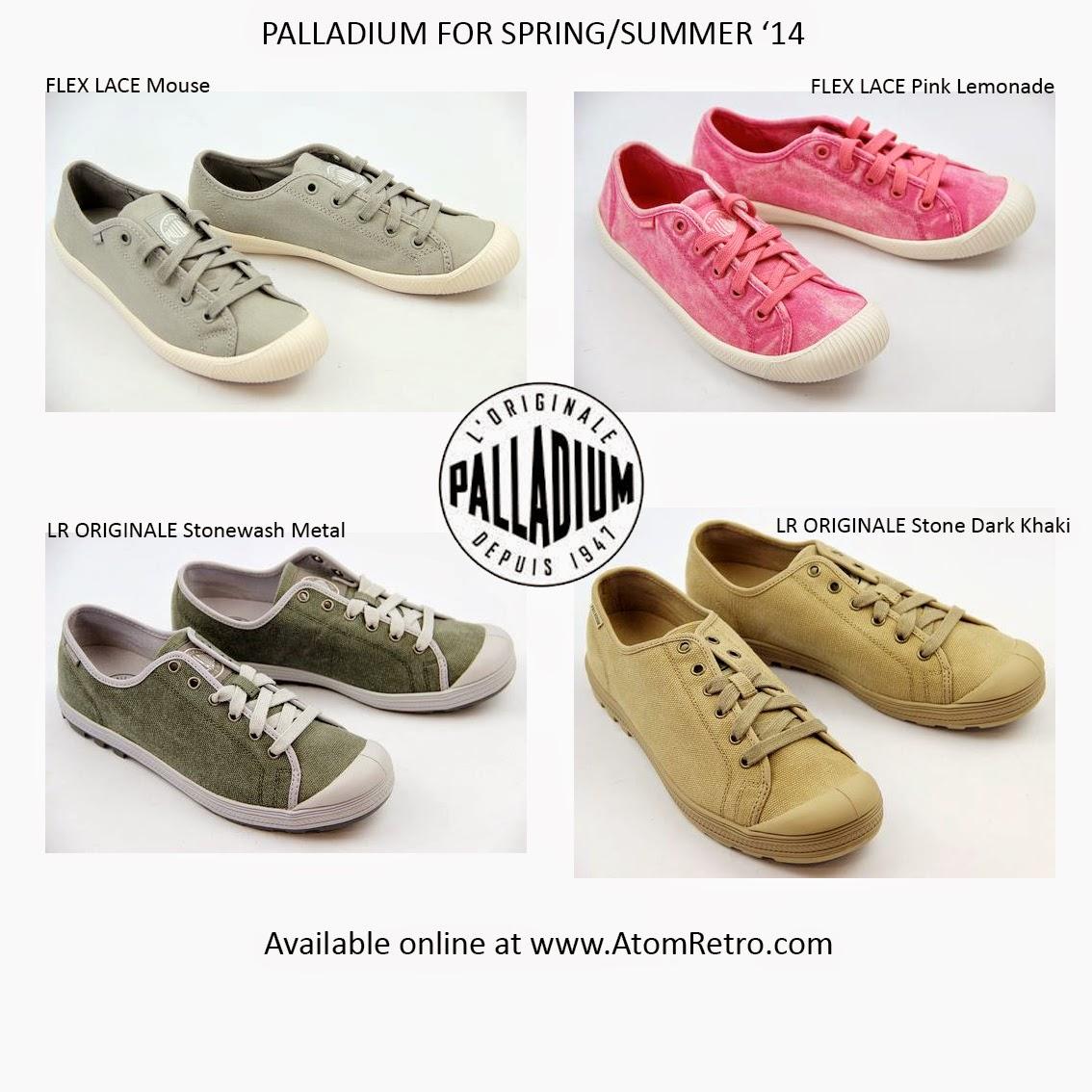 Palladium Mens and Womens Footwear online at Atom Retro