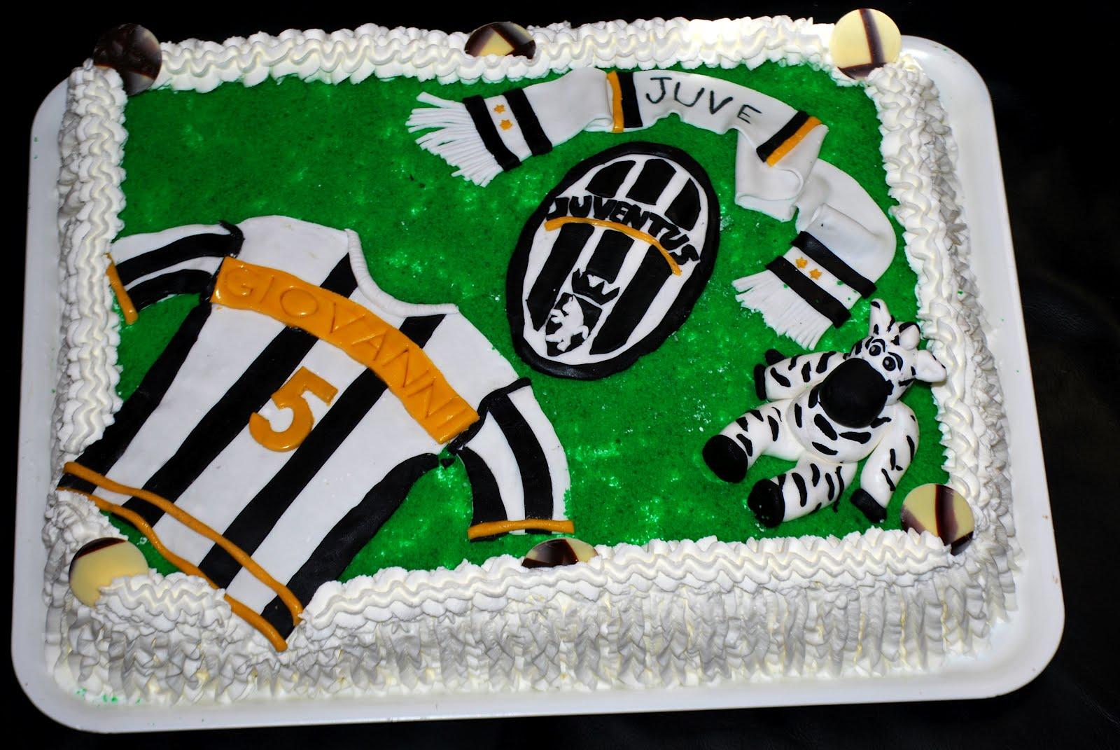 Célèbre Decorazioni Torta Juventus: Verys cake: zebra juve beffarda. CL35