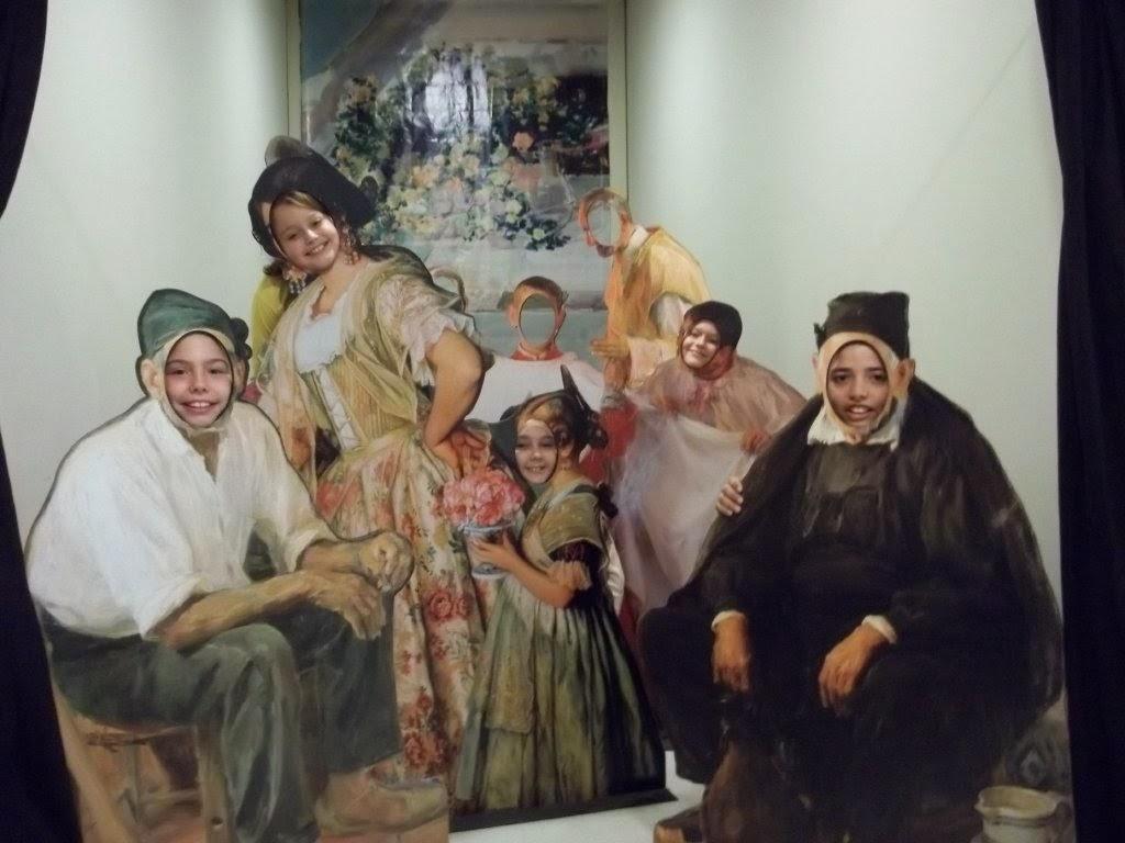 visita al Museu de Belles Arts de la ciutat de València