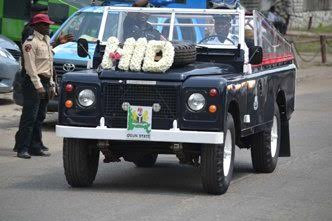 Chief Mrs HID Awolowo burial motorcade