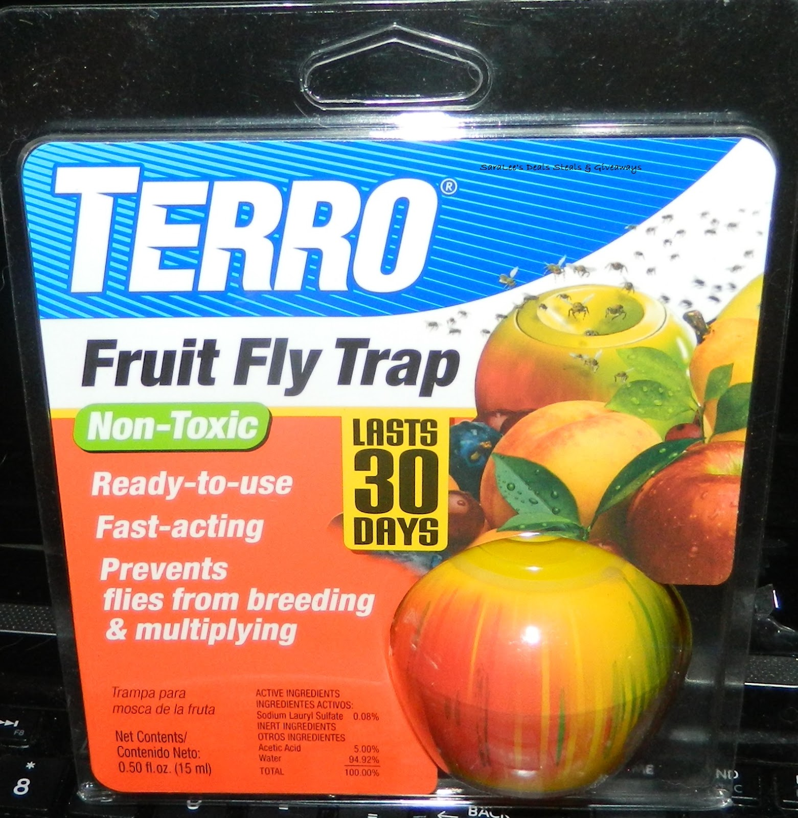 Enter the Terror Fruit Fly Trap Giveaway. Ends 10/15