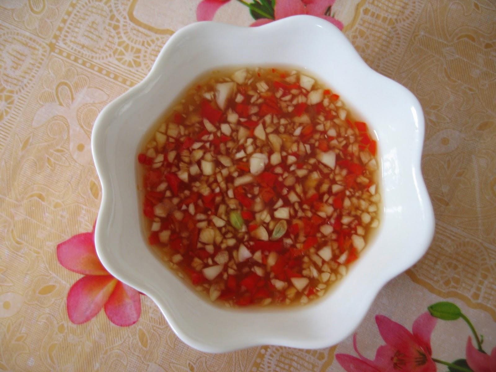 Sumptuous flavours vietnamese dipping fish sauce nuoc cham for Vietnamese fish sauce