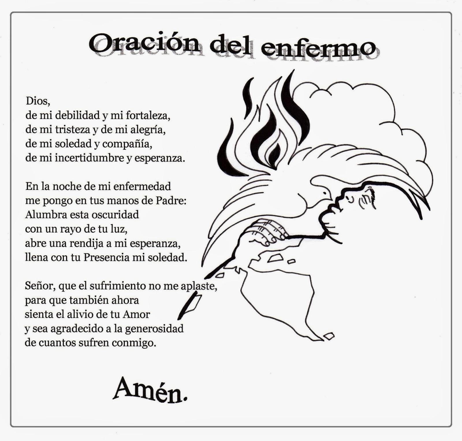 El Rincón de las Melli: Oración del enfermo