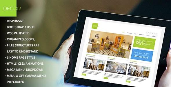 Decor - Themeforest HTML5 Versatile Template
