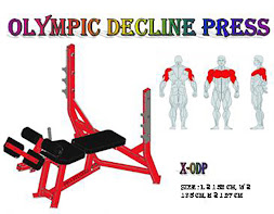 Olympic Decline Press Red