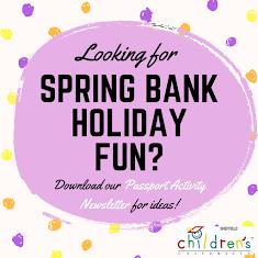 Spring Bank Passport Activity Newsletter