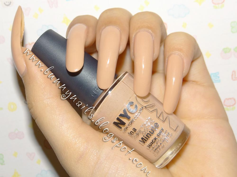 color nail polish: Nude Nail Polish: NYC Fashion Safari