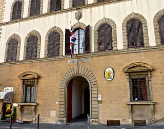 British Consulate in Florence, Italy