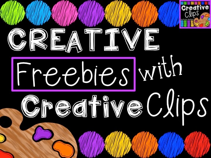 http://ataleof2firstgrades.blogspot.com/2014/04/creative-freebies-with-creative-clips.html