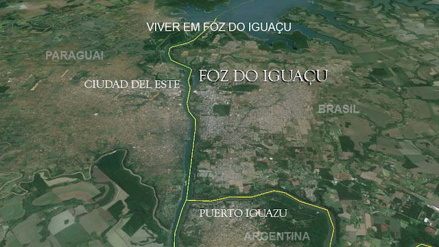 Mas, e aí eu te pergunto: Onde fica Foz do Iguaçu