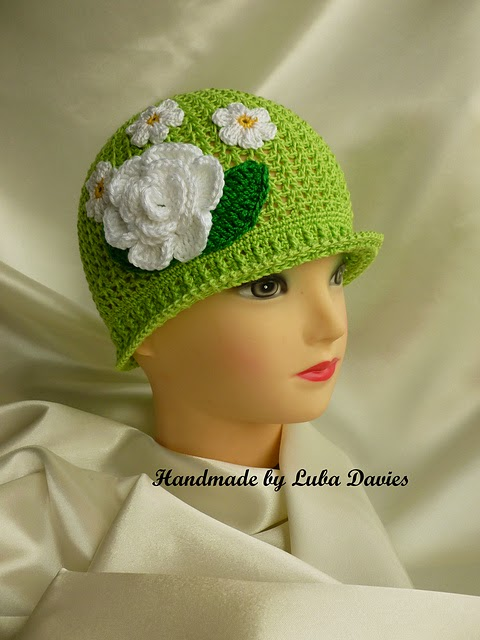 Crochet Cloche Hats Pattern Diy Craft Projects