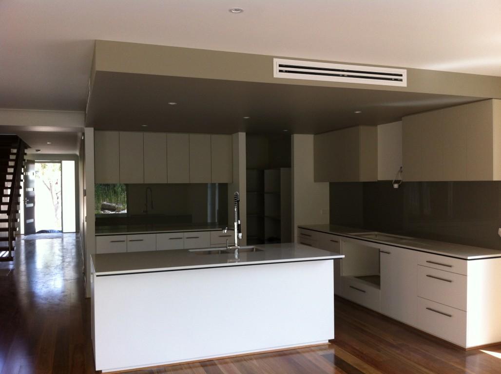 Carter Grange Building Our Home Glass Splash Backs Installed