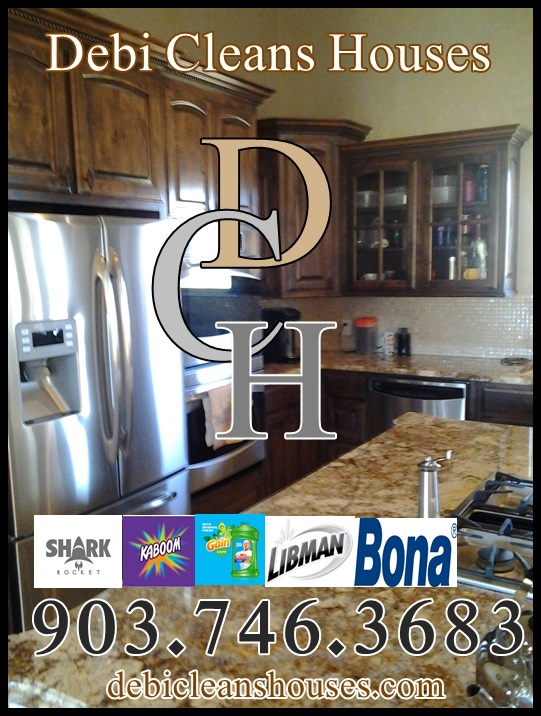 DCH House Cleaning Longview TX Kilgore TX Maid Service Hallsville TX Cleaning Service