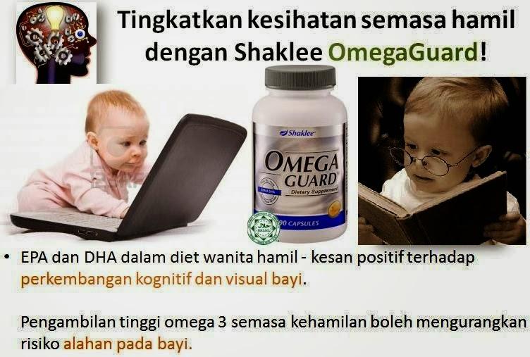 Omega guard penting untuk perkembangan otak bayi