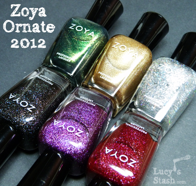 Lucy's Stash - Zoya Ornate collection for Holiday 2012