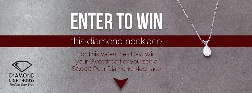 Win a diamond necklace