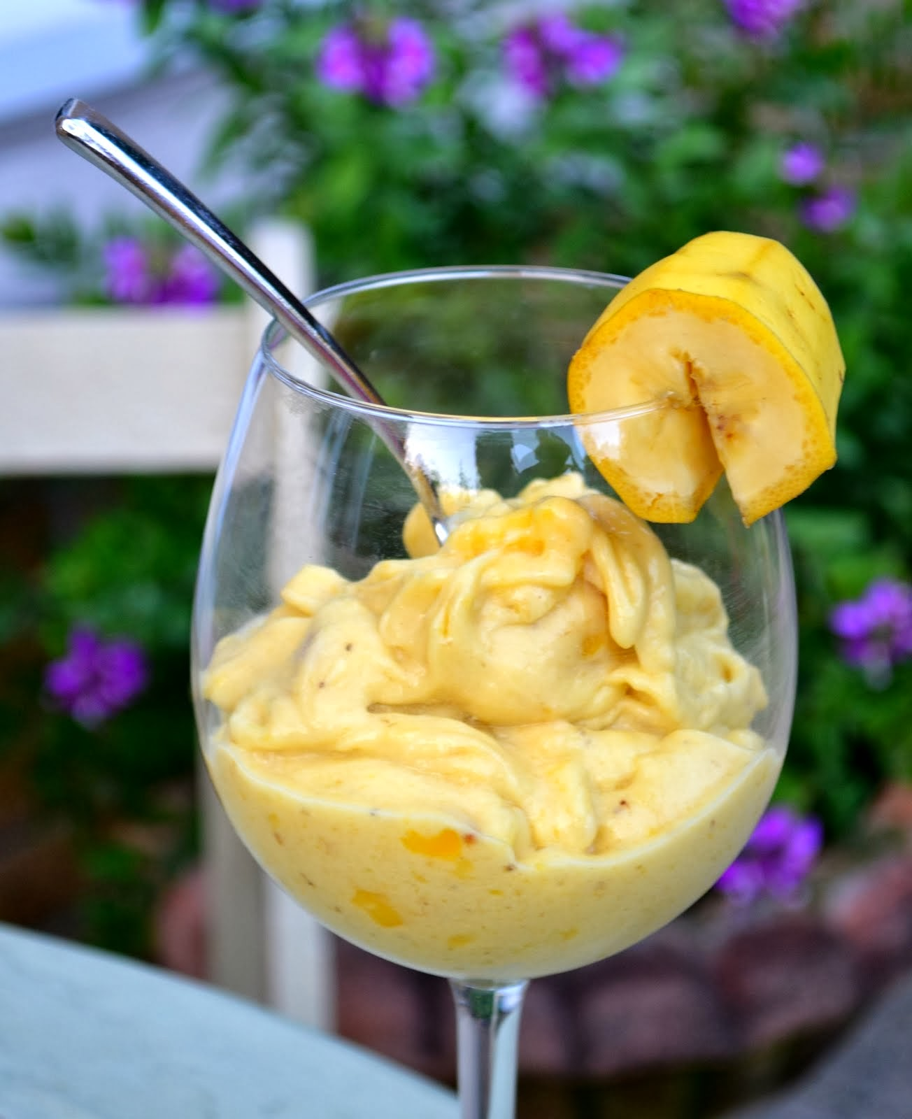 Banana and Mango Sorbet