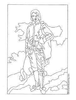 Art Masterpiece Gainsborough Coloring Pages