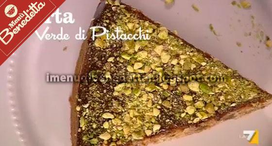 Torta Verde di Pistacchi di Benedetta Parodi
