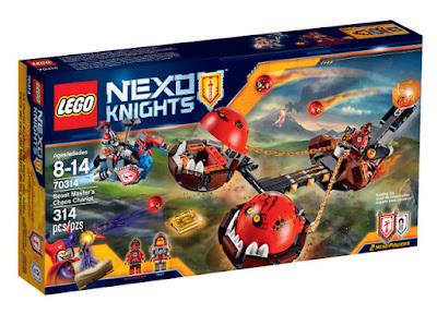 TOYS : JUGUETES - LEGO Nexo Knights  70314 Carro del Caos del Maestro de las Bestias  Beast Master's Chaos Chariot  Producto Oficial 2015 - 2016 | Piezas: 314 | Edad: 8-14 años  Comprar en Amazon España & buy Amazon USA