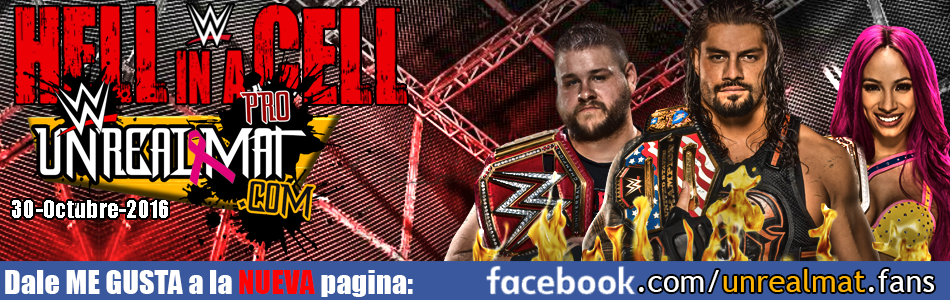 WWE Hell in a Cell 2016 En Vivo Español | Noticias WWE, TNA, UFC | RAW | SmackDown | NXT | PPV