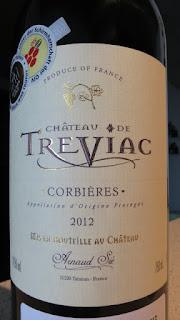 Château de Treviac 2012 - AP Corbières, Midi, France (89 pts)